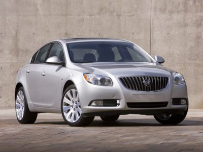 The 2011 Buick Regal has a 0% loan incentive for August.