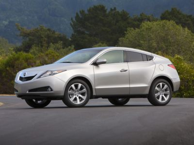 The 2011 Acura ZDX comes with a $0 down lease incentive for September.