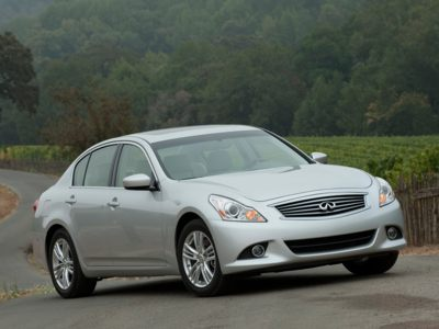 The 2011 Infiniti G25 comes with a $319 per month lease incentive during September