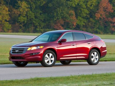 The 2012 Honda Accord Crosstour comes with a $0 down payment lease incentive during October.