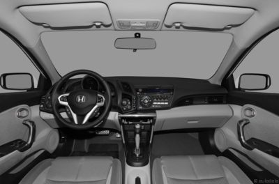 The 2012 Honda CR-Z interior.