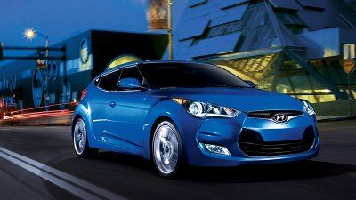 The 2012 Hyundai Veloster.