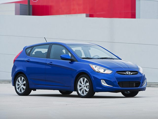 The 2012 Hyundai Accent has a $169 lease incentive during October.