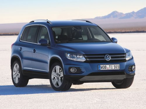 The 2012 VW Tiguan comes with a 1.9% financing incentive for October.