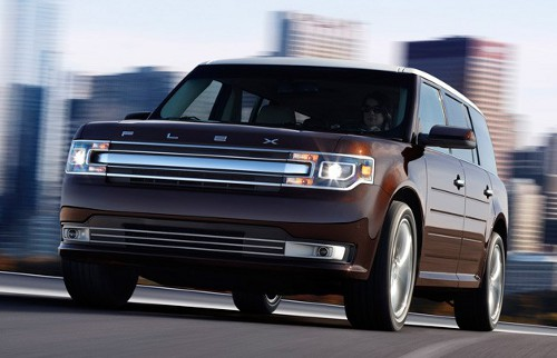 The 2013 Ford Flex will have an attractive redesigned grill.