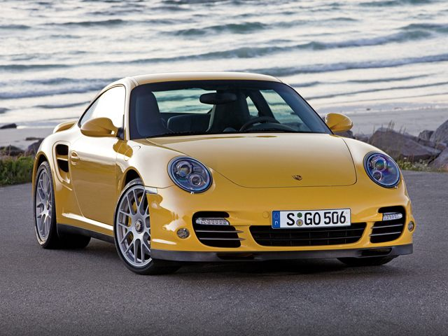 The 2012 Porsche 911 997 Turbo shown here gets by with just two turbochargers