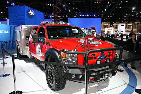 2012 Ford F-550 Rescue Truck