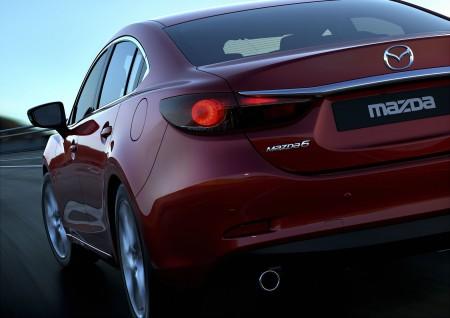 2014 Mazda6 Rear