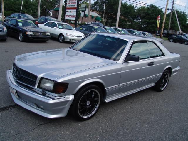 1990 mercedes SEC560
