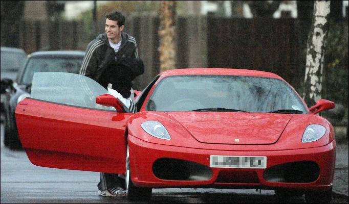 Andy Murray Ferrari