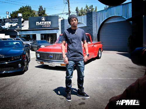 Lupe Fiasco Chevy Camaro C10