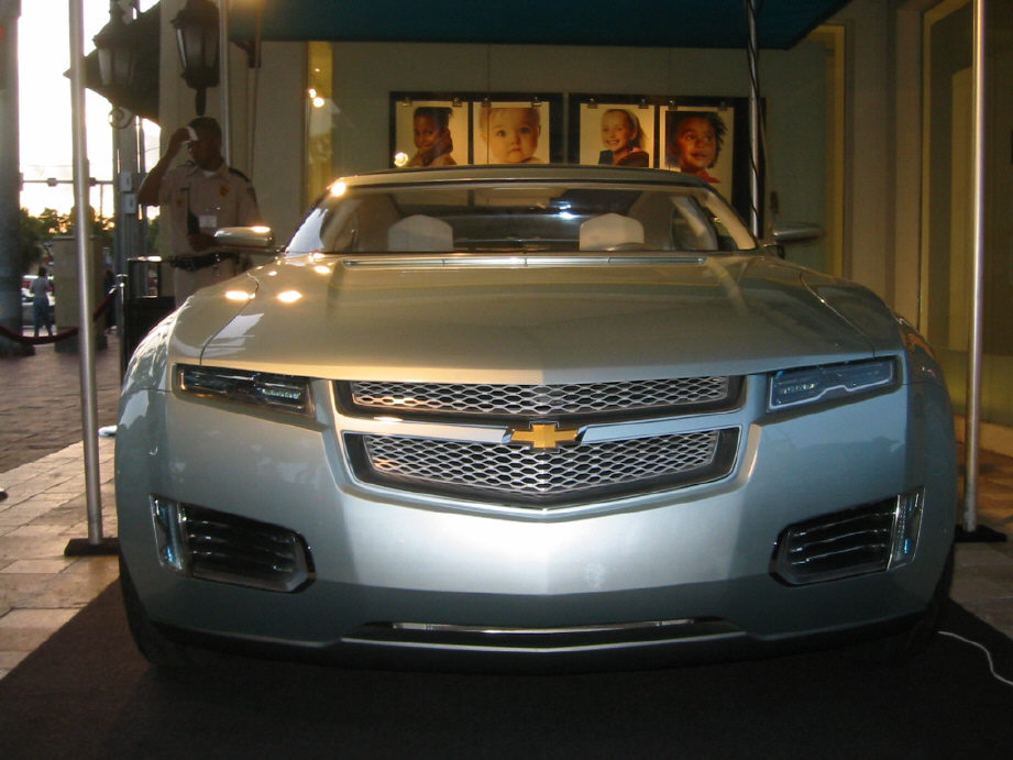 Chevy Volt front view