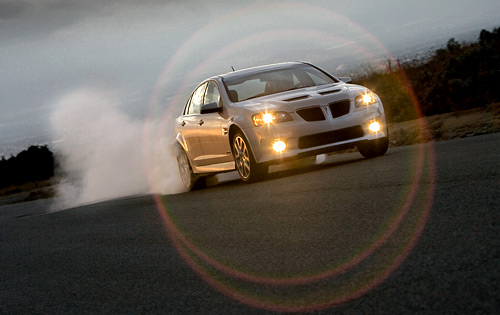 Pontiac G8 GXP Burnout picture
