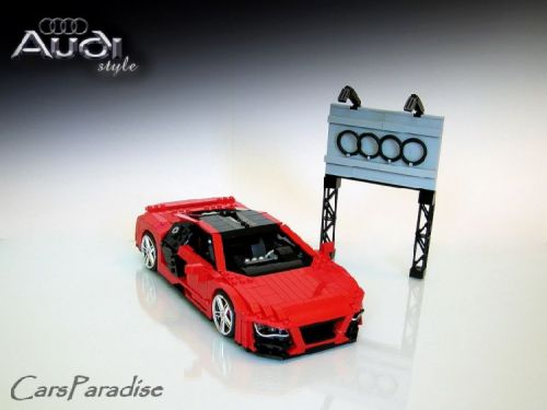 lego cars audi R8 pictures