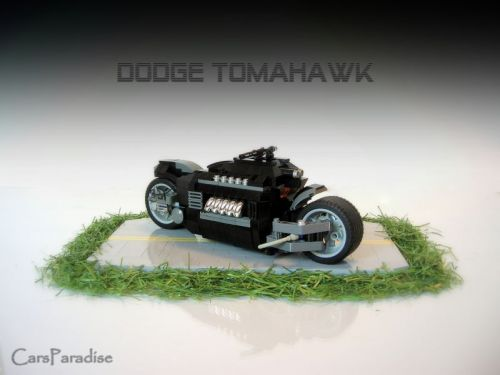 lego cars dodge tomahawk picture