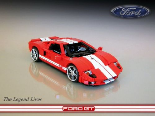 lego cars ford gt picture