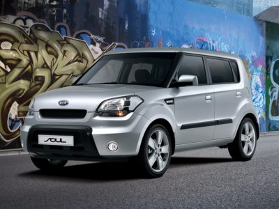 The 2010 Kia Soul is available with a 0% car loan incentive during July.