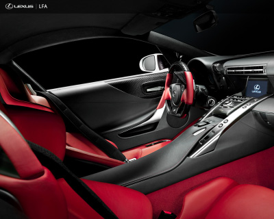 Lexus LF-A interior picture