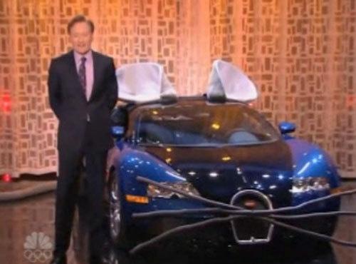 Conan Obrien Bugatti Veyron