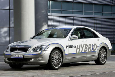 Mercedes Benz s-class hybrid picture