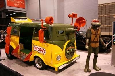 Teenage Mutant Ninja Turtles Van Picture
