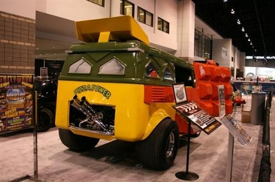 Teenage Mutant Ninja Turtles VW Van Picture