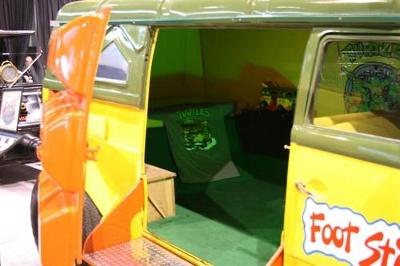 TMNT Van interior picture