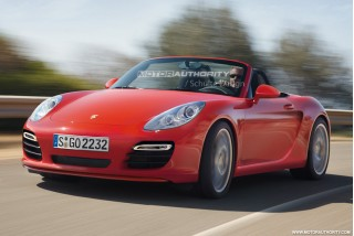 A rendering of the new entry level Porsche by MotorAuthority.