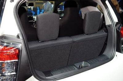2011 Scion iQ Back seat picture