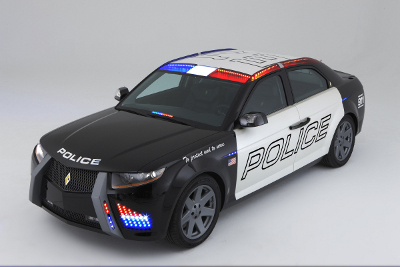 carbon motors police cruiser