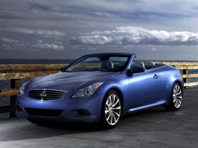 The 2010 Infiniti G37 Convertible is available with 0% financing during June.