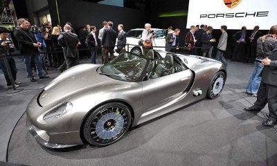 2011 Porsche 918 Spyder concept