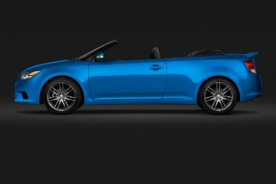 2012 Scion tC convertible, as rendered by Inside Line.