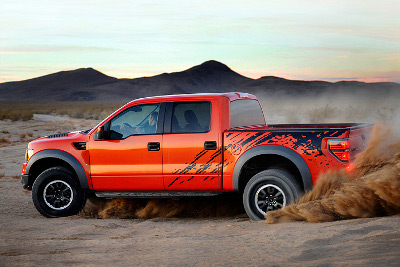 Edmunds Inside Line created this image of what a SuperCrew F150 Raptor will most likely look like.