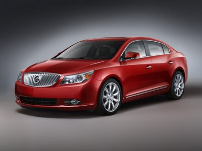 The 2010 Buick LaCrosse is Buick's largest and most luxurious car.