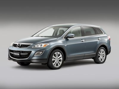 The 2010 Mazda CX-9 has lower monthly payments than the CX-7 during May.