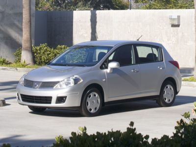The 2010 Nissan Versa.