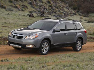 The 2010 Subaru Outback.
