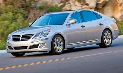 The 2011 Hyundai Equus.