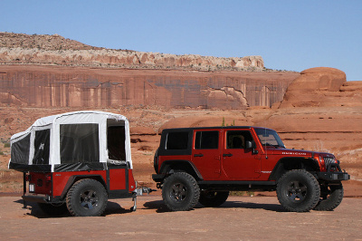 Jeep off-road trailer
