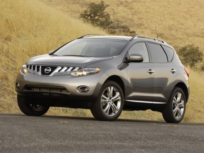 The two-door Murano Convertible will be based on the four-door SUV version shown here.