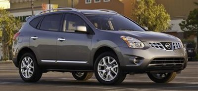 The updated 2011 Nissan Rogue.