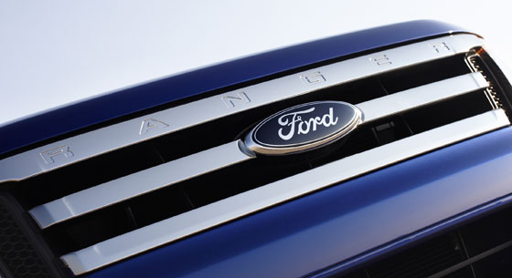 New Ford Ranger Grill