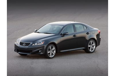 The Lexus IS250 (2011 model shown here) is included in the fuel system recall.