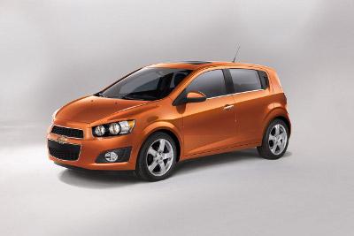 2012 Chevy Sonic Hatchback
