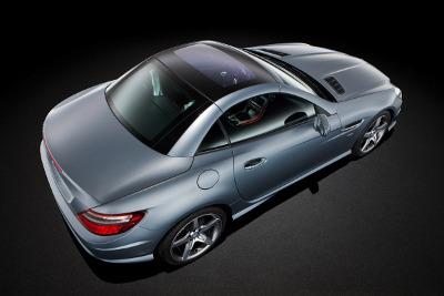 2012 Mercedes-Benz SLK250 Magic Sky Control Roof