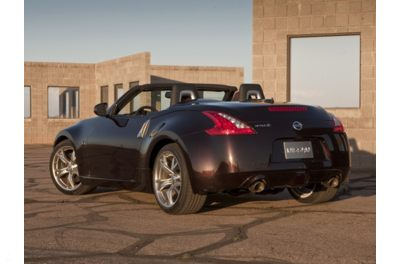 2011 Nissan 370Z Convertible Rear