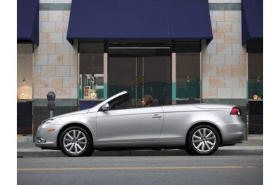 2011 VW eos convertible profile