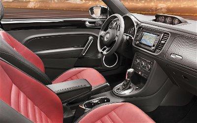 2012 VW Beetle Interior