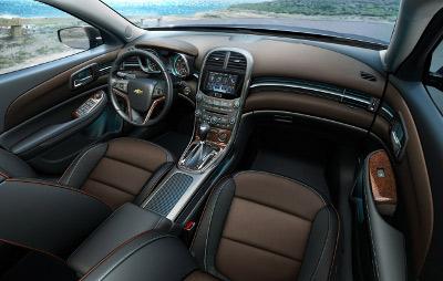 2013 Chevy Malibu Interior